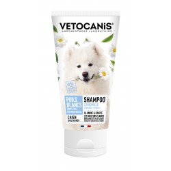 Shampoo for White and Light-Coloured Coats for Dogs, with Camomile. 300 ml  - 1