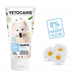 Shampoo for White and Light-Coloured Coats for Dogs, with Camomile. 300 ml  - 2