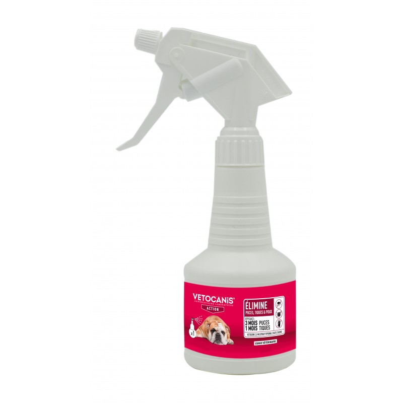 VETOCANIS ACTION Anti-parasite Spray with Fipronil for Dogs  - 1
