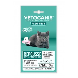 PREVENTIS Anti-Parasite Repellent Collar for Kittens  - 1