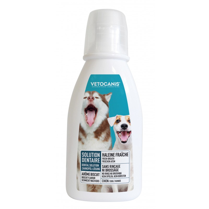 Dental water, Anti-Tartar Oral Hygiene Solution for Dogs  - 1