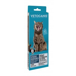 Sticks Dentaire Anti-Tartre 100% Naturel pour Chat X5 bâtonnets  - 1