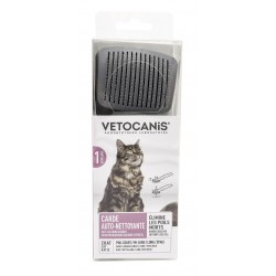 Self-Cleaning Retractable Slicker Brush for Cats. Step 1. Disentanglement  - 4