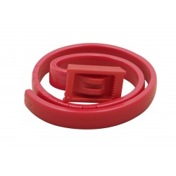 VETOBIOTIC Anti-Flea and Anti-Tick Action Collar for Cats, Red  - 2