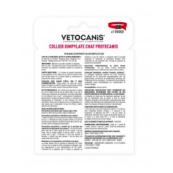 VETOCANIS ACTION PROTEC Anti-Flea and Anti-Tick Collar for Cats, Black  - 4