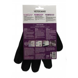 4 in 1 Silicone Grooming Glove for Dogs and Cats  - 2