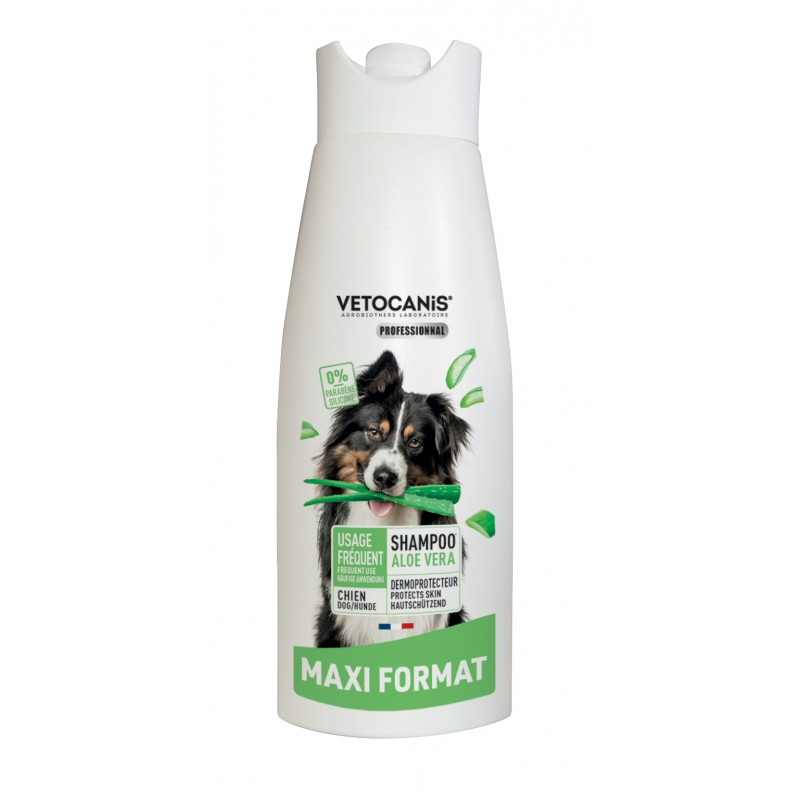 Frequent-Use Shampoo for Dogs with Aloe Vera. 750 ml  - 1