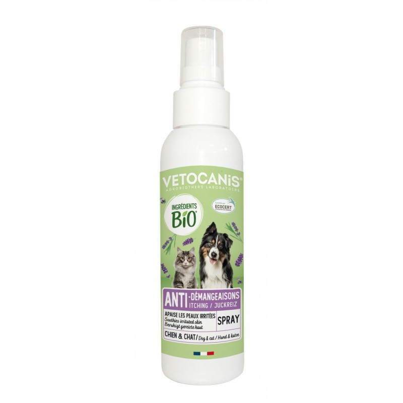 ORGANIC Anti-Itching Spray for Dogs and Cats 125 ml  - 1