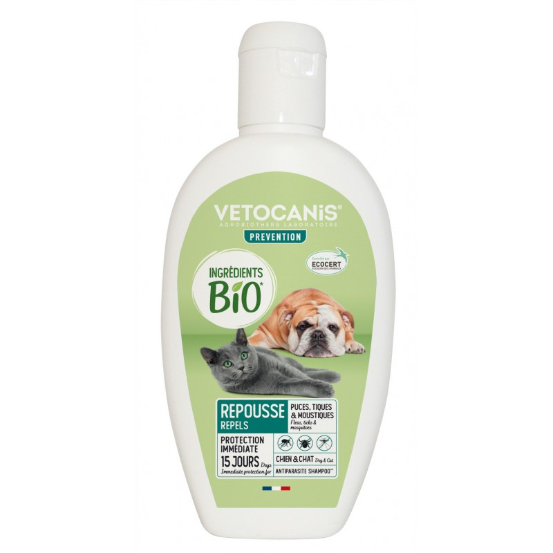 Organic Ingredients Anti-Parasite Shampoo for Dogs and Cats  - 1