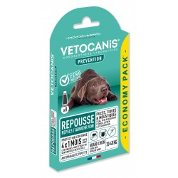 PREVENTIS Anti-Flea, Tick and Mosquito Repellent Pipette Large Dog X8  - 2