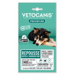 PREVENTIS Anti-Flea, Tick and Mosquito Repellent Collar Medium-Sized Dogs  - 1