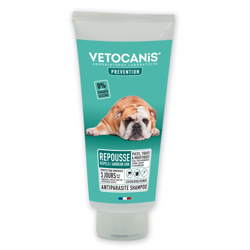 PREVENTIS Anti-parasite Repellent Shampoo for Dogs 300ml  - 1