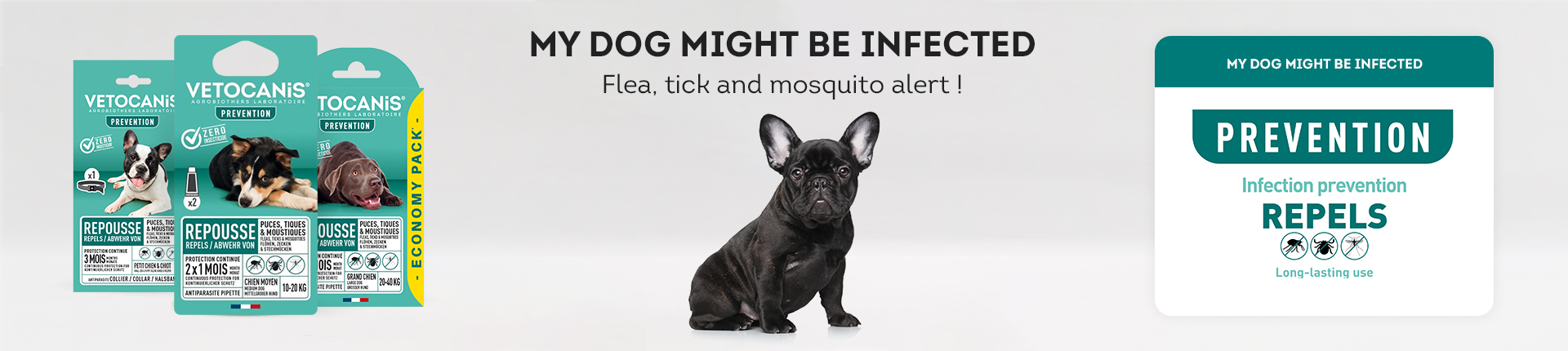PREVENTION - Repeals Flea & Tick